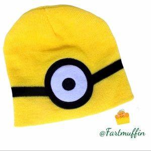 Minion Beanie One Eye Yellow Licensed Knit Cap